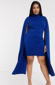 μπλε ιλεκτρίκ φόρεμα μίνι