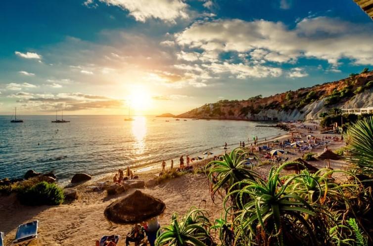 νησί ίμπιζα παραλία