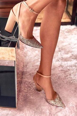 nude γυαλιστερά νυφικά παπούτσια