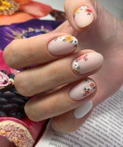 φλορά μανικιούρ σχέδια λουλούδια καλοκαιρινά σχέδια νύχια