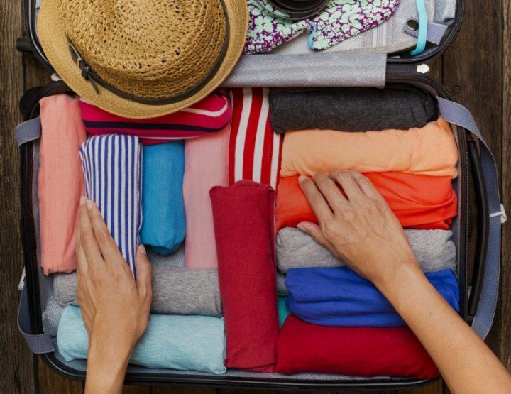 6 Μυστικά για να χωρέσεις τα πάντα στη βαλίτσα σου!