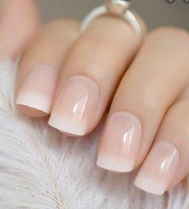 νυχια γαλλικο απλο νυφης