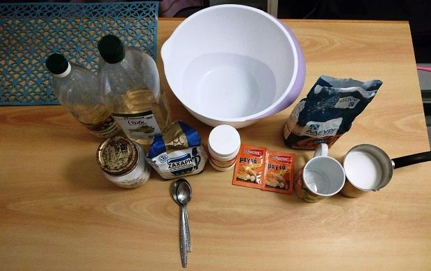 υλικά συνταγή για bao buns