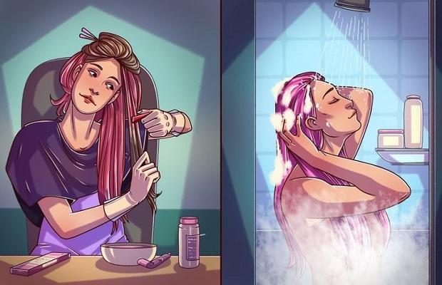βάψιμο μαλλιών συμβουλές ediva.gr