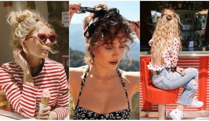 5 Καλοκαιρινά χτενίσματα για τα σγουρά μαλλιά σου!