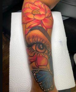 3d τατουάζ χέρι
