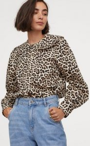 animal print γυναικείο πουκάμισο