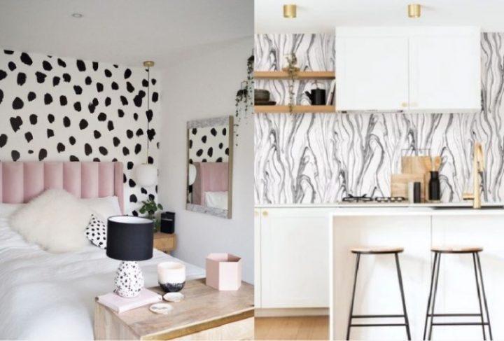 18 Υπέροχες ασπρόμαυρες ταπετσαρίες για ένα μοντέρνο σπίτι!