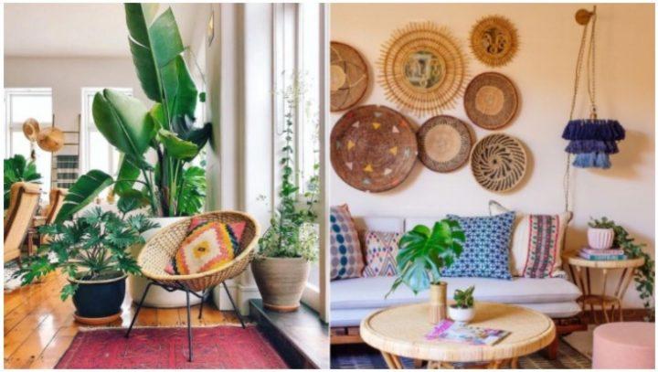 5 Όμορφες ιδέες για να διακοσμήσεις ένα boho σαλόνι!