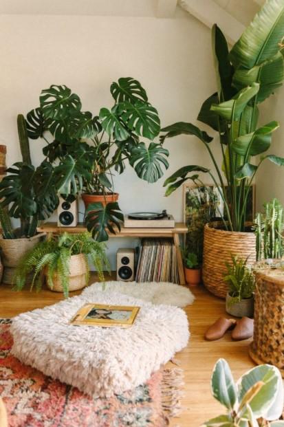 δωμάτιο γεμάτο φυτά τάσεις διακόσμησης 2021