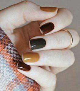φθινοπωρινά χρώματα για τα νύχια