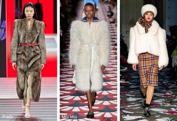 γούνινα γυναικεία παλτό 2021