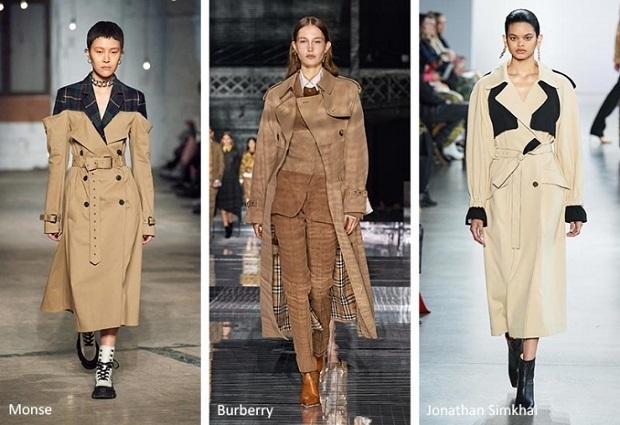μοντέρνες γυναικείες καμπαρντίνες τάσεις μόδας