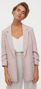 γυναικείο σακάκι χωρίς κουμπιά h&m