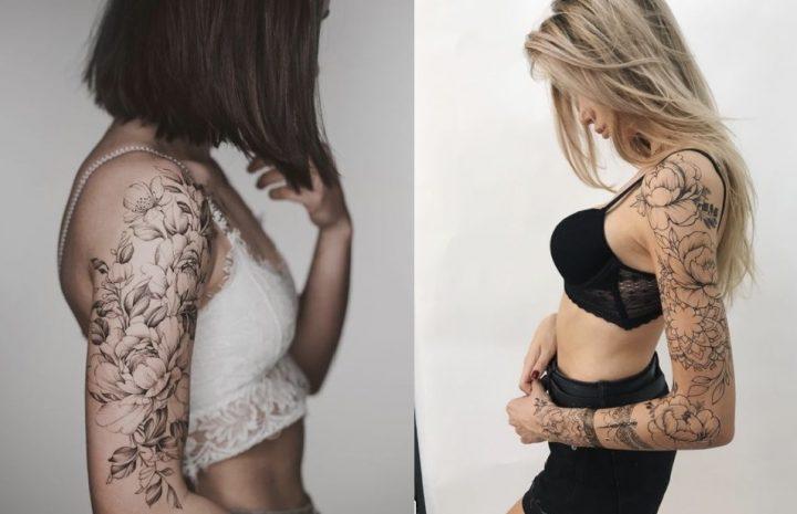 Τα Καλύτερα γυναικεία τατουάζ μανίκι που πρέπει να δοκιμάσεις!