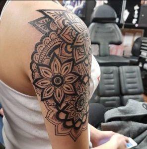 half sleeve tatoo tribal