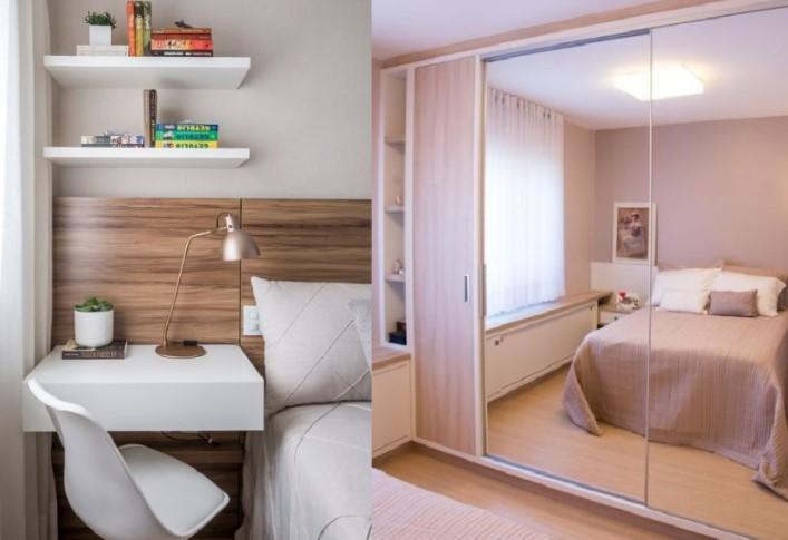 6 Υπέροχες προτάσεις διακόσμησης για μικρά υπνοδωμάτια!