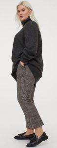 καρό γυναικείο υφασμάτινο παντελόνι