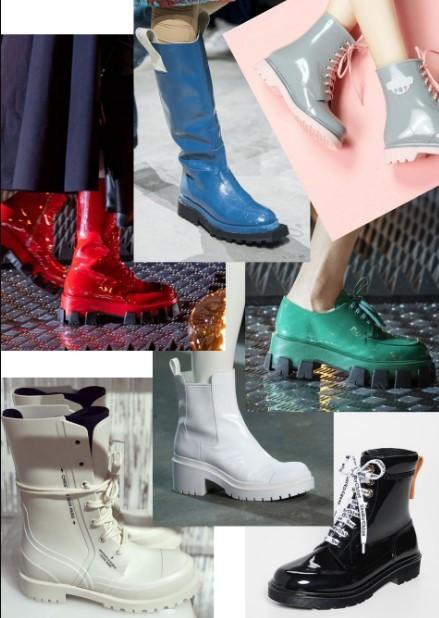 λαστιχένια χειμερινά παπούτσια