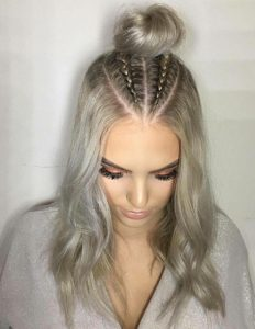 λεπτές πλεξούδες hairstyles ediva.gr