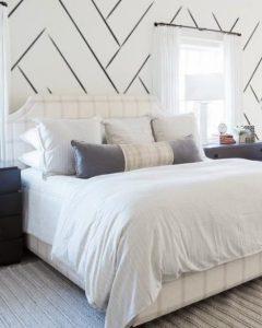 λευκό υπνοδωμάτιο