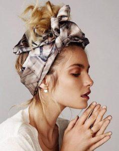 μαντήλι μαλλιά τουρμπάνι