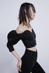 μαυρη μπλουζα μοντερνα ζαρα 2021
