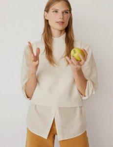 πουκαμισο ασπρο mango