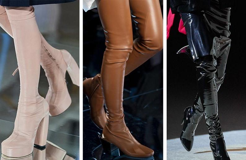 μπότες μέχρι το γόνατο