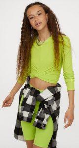 neon κοριτσίστικη μπλούζα