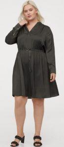 plus size φορέματα χειμώνας 2021