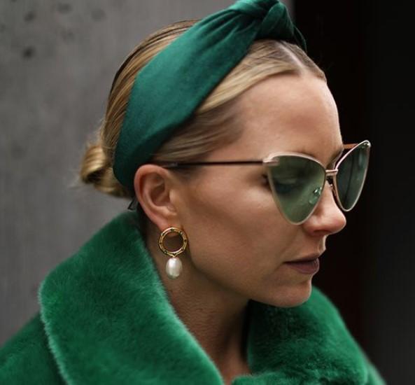πράσινοι φακοί στα γυαλιά ηλίου