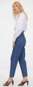 ψηλόμεσο γυναικείο jean παντελόνι