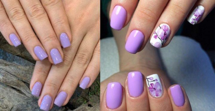 15 Ιδέες για πανέμορφα μοβ-λιλά νύχια που θα λατρέψεις!