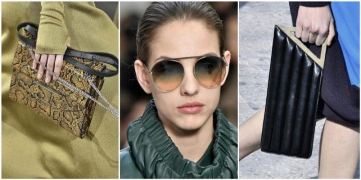 12 Νέες τάσεις στις γυναικείες τσάντες & γυαλιά για το 2021