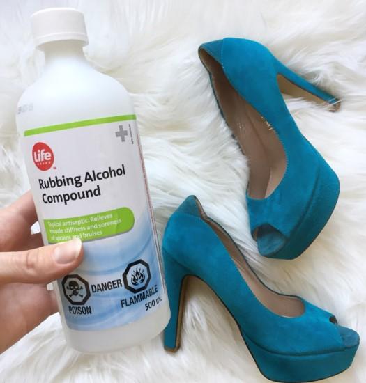 αλκοόλ για καθαρισμό παπουτσιών