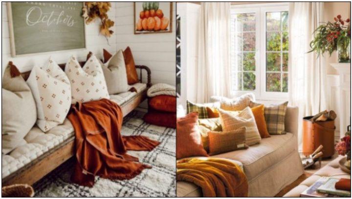 6 Ιδέες για τη φθινοπωρινή διακόσμηση του σπιτιού σου!
