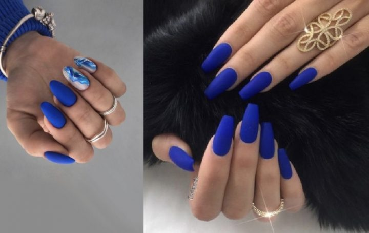 15 Φανταστικά σχέδια για νύχια σε μπλε χρώμα!