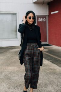 καρό παντελόνια μαύρο σακάκι παντελόνια πρέπει έχεις