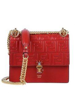 κόκκινη τσάντα fendi