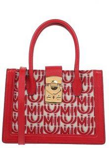 κόκκινη τσάντα miu miu