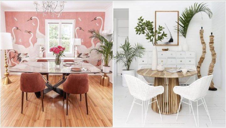 6 Ιδέες για να διακοσμήσεις μια κομψή τραπεζαρία!