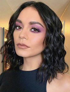 μακιγιάζ με μοβ σκιά