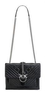 μαύρη pinko τσάντα