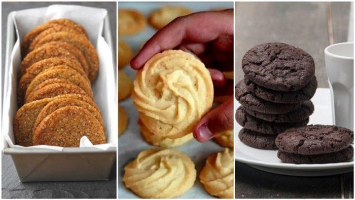 4 Συνταγές για νόστιμα και εύκολα μπισκότα!