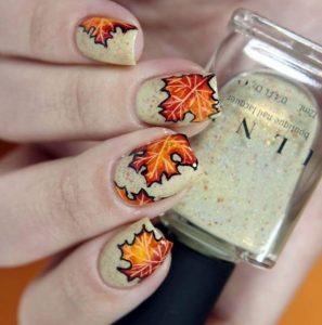 νύχια για το φθινόπωρο