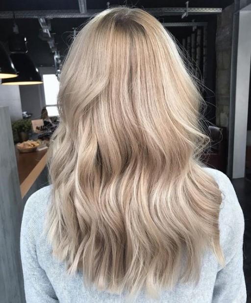 ψυχρό ξανθό μαλλί