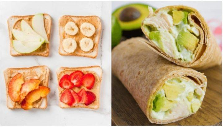 5 Ιδέες για γευστικά και εύκολα σνακ για τη δουλειά!