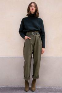 χακί παντελόνι μαύρο ζιβάγκο