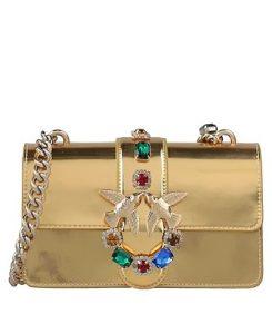χρυσή τσάντα